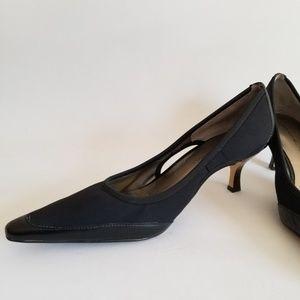 Bandolino Classic Pumps 9M Black Pointed Toe
